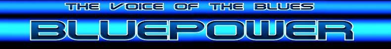 bluepower voice of the blues banner
